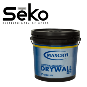 Balde de Massa Para Drywall 30 kg Maxcryl