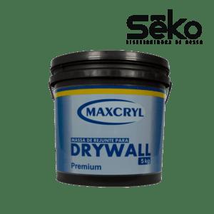Balde de Massa Para Drywall 5 kg Maxcryl