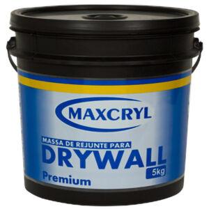 Balde de Massa DryWall - MaxCryl 5KG